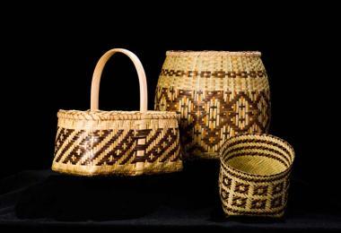 Cherokee art baskets