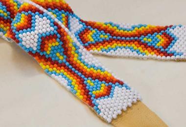 Cherokee art beads