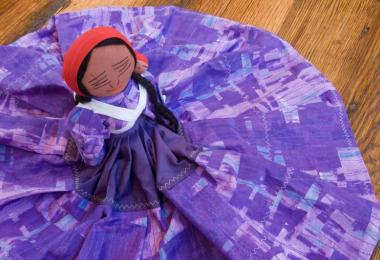 Cherokee art doll