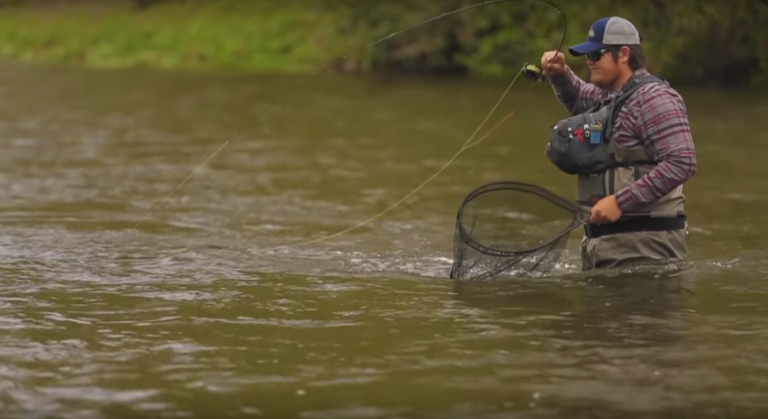 Michael bradley on fishing cherokee and trying out for for Fly fishing team usa