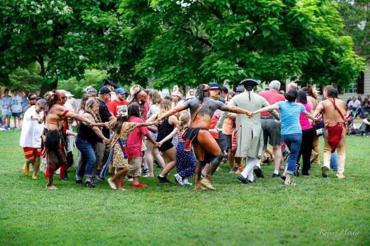 The Warriors of AniKituhwa: Bringing Cherokee Dance and