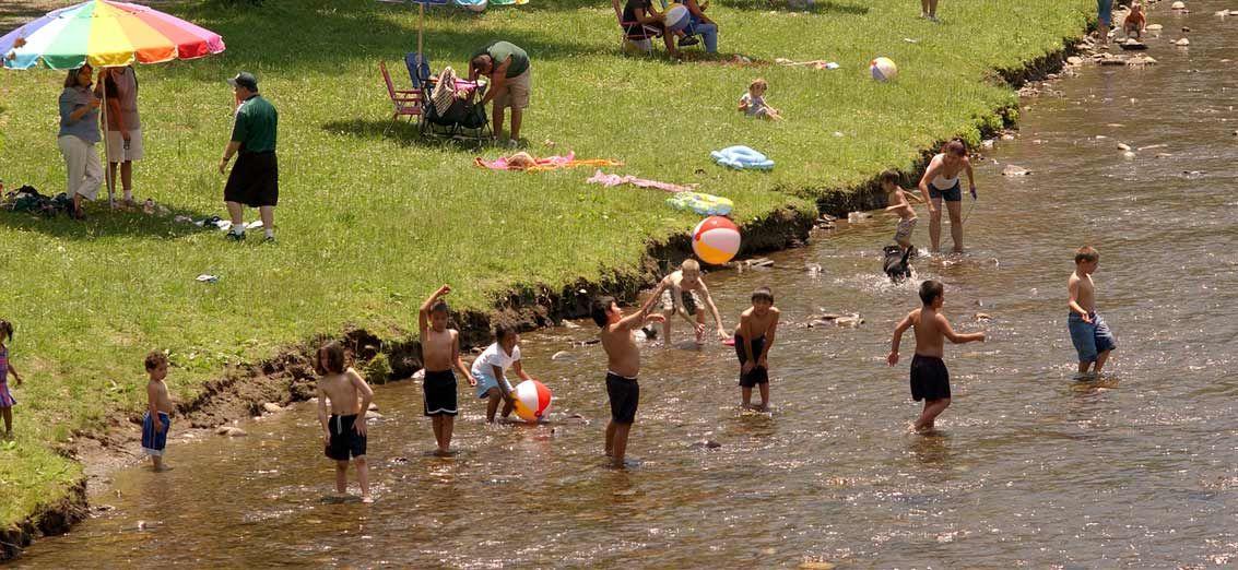 Oconaluftee Islands Park Cherokee Nc