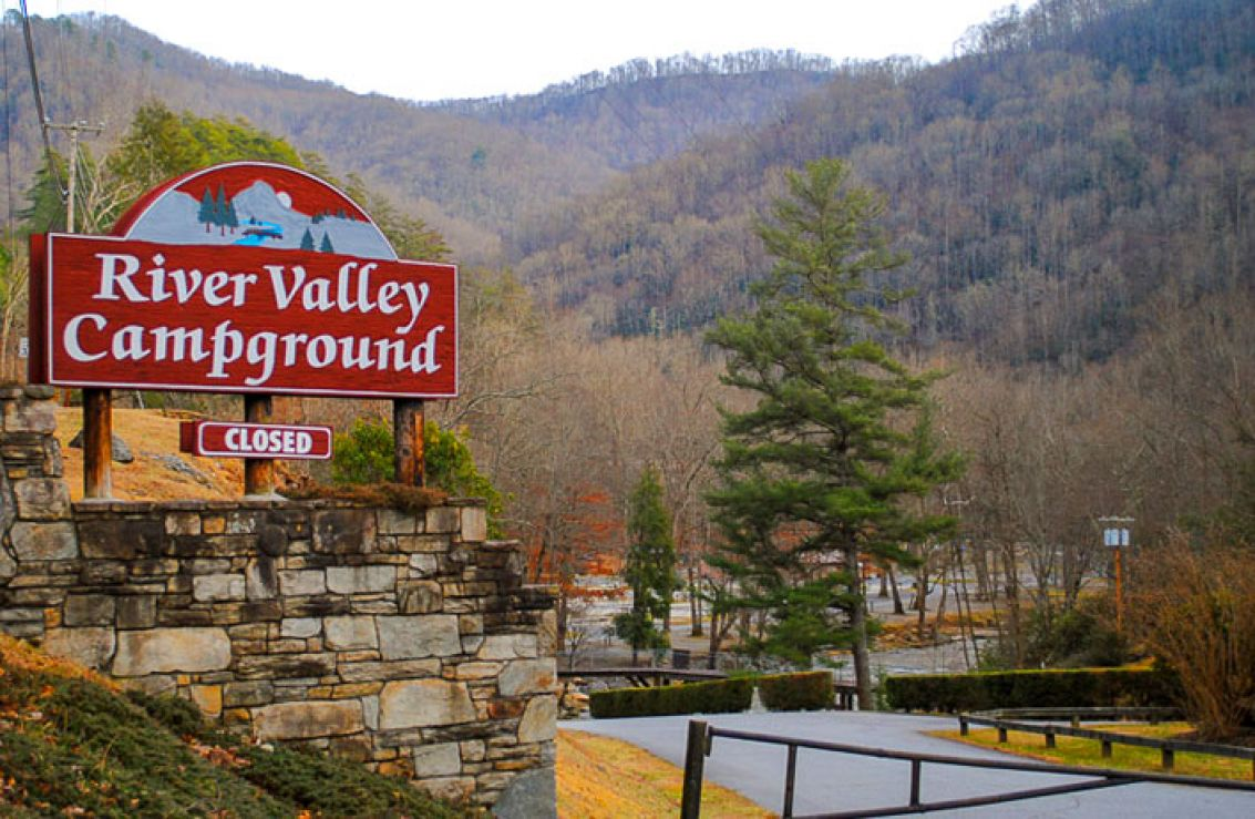 river valley campground | cherokee, nc