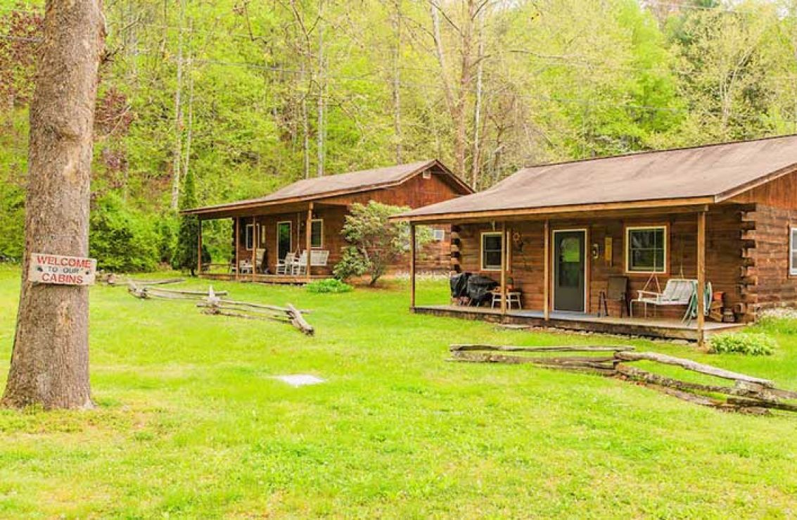 rentals cabins poi itinerary nc builder s cherokee cabin campground