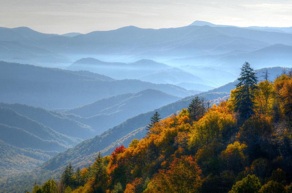 Fall Foliage Peak Continues In Cherokee Cherokee Nc